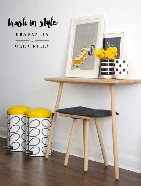 Trash In Style New Brabantia X Orla Kiely Bins For My Dream Home