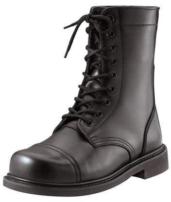 Rothco Black GI Style Steel Toe Combat Boots 5092