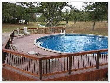 Pin By Rita Long On Above Ground Pool Decks Basic Deck Building Pool Deck Plans Simple Pool