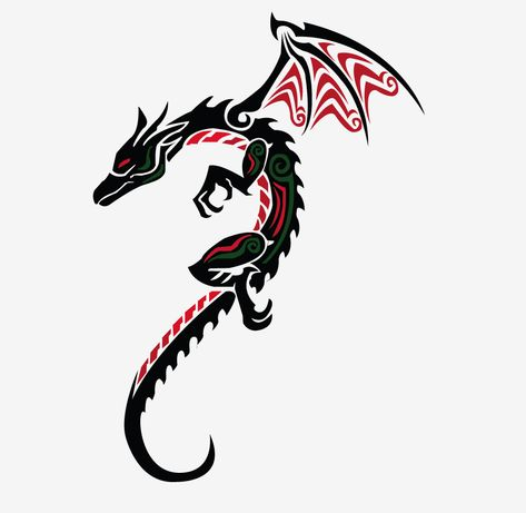 dragon tattoo designs for women | Simple Dragon Tattoos For Women