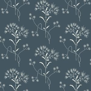 Magnolia Home By Joanna Gaines Wildflower Spray And Stick Wallpaper Covers 56 Sq Ft Me1518 The Home Depot Magnolia Homes York Wallpaper Navy Wallpaper