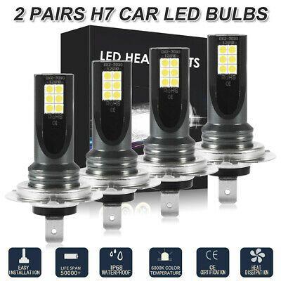 Ad Ebay Link H7 Led Headlight Globe Hi Lo Beam Bulbs For Hyundai