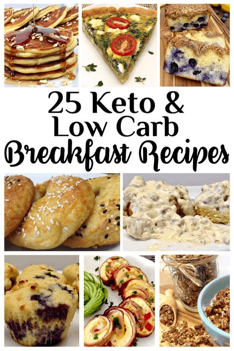 25 Keto and Low Carb Breakfast Recipes