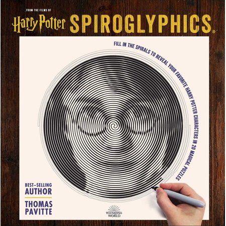 Harry Potter Spiroglyphics Paperback Walmart Com Harry Potter Words Potter Harry