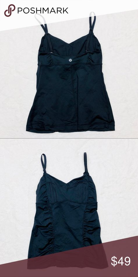 7b79e7bfecb Lululemon athletica black tank top In excellent condition lululemon  athletica Tops Tank Tops