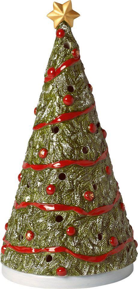Otto Weihnachtsdeko.Villeroy Boch Grosse Christbaum Teelichtfigur North Pole