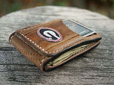 baseball Custom Magnetic Bi Fold Wallet...