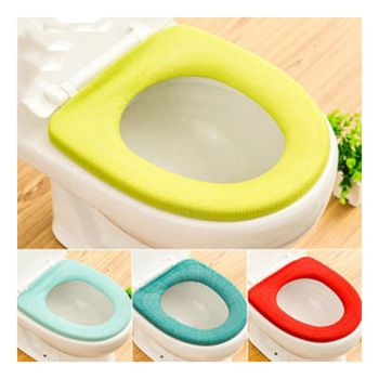 Bathroom Toilet Mat Seat Toilet Seat Mat Closestool Washable Sticky Cushion Cover Soft Warmer Cover Pad High In 2020 Toilet Seat Cover Toilet Seat Cushions For Sale