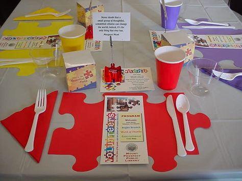Volunteer Appreciation Uses Essential Piece Theme for Special Event Success