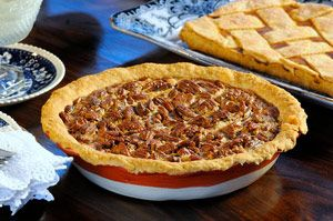 Pecan pie is a staple at the holiday dinner table why because its pecan pie is a staple at the holiday dinner table why because its deliciously decadent and this recipe keeps it simple forumfinder Choice Image