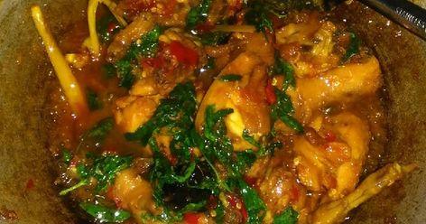 Resep Ayam Rica Rica Kemangi Pedas Manis Oleh Dwi Endarwati Resep Resep Ayam Resep Memasak