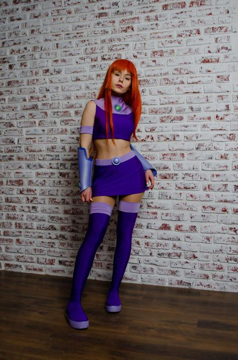 Teen Titans cosplay: Starfire costume, Starfire cartoon inspired outfit - Real Time - Diet, Exercise, Fitness, Finance You for Healthy articles ideas