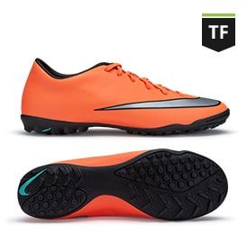 detailed look 48d4e db924 Nike Mercurial Victory V TF - Bright Mango/Metallic Silver ...