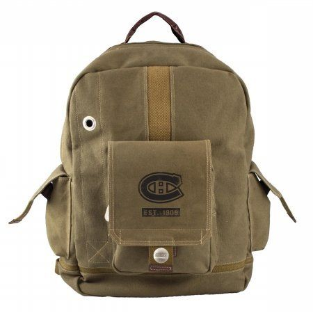 Little Earth Productions 550703 CAND OLIV Montreal Canadiens Prospect Backpack