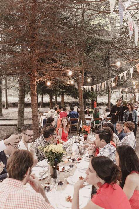 Barbacoa informal para una boda, ¿por qué no?