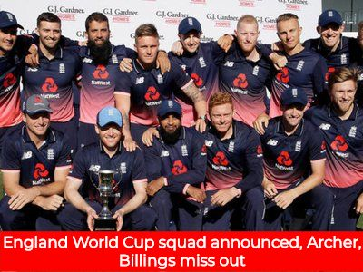 England World Cup Squad Announced Archer Billings Miss Out England World Cup Squad World Cup Cricket World Cup