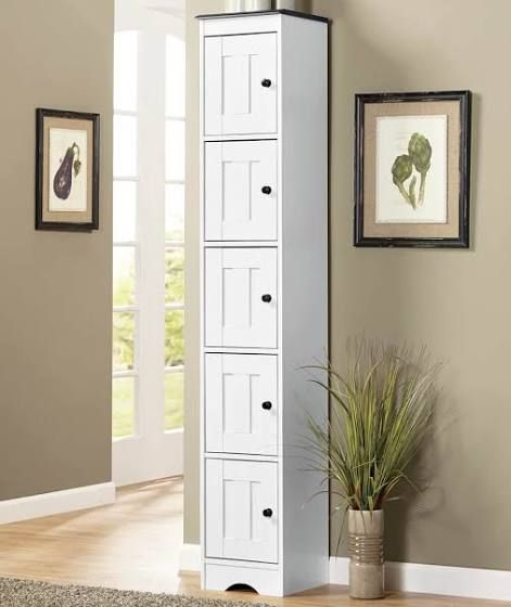 White Pantry Tall Kitchen Cabinets Tall Bathroom Storage Cabinet Tall Bathroom Storage