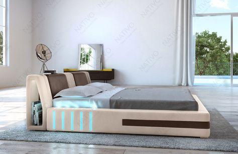 Welp bed #lederen bed #design #nativomeubels.nl #NATIVO #designbed #LED VK-73