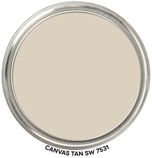 Paint Blob Canvas Tan 7531 by Sherwin-Williams