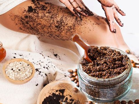 Молотый кофе против целлюлита