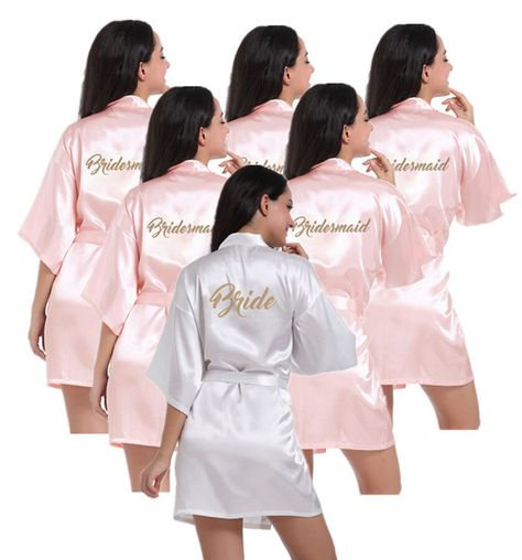 Silk Satin Personalized-Wedding dresse Robe Bridesmaid Bride-Mother Dress  Gown Wedding dresse Personalized dae670837