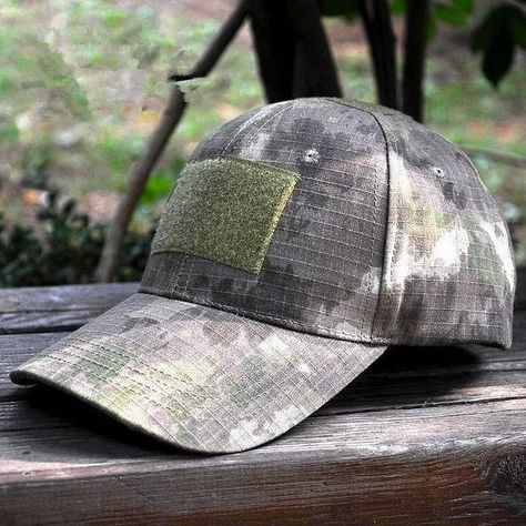 Adjustable Camouflage Hunting Patch Hat  784f006008f4