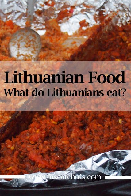 Lithuanian food to try during your visit to Lithuania. Via In Search Of.