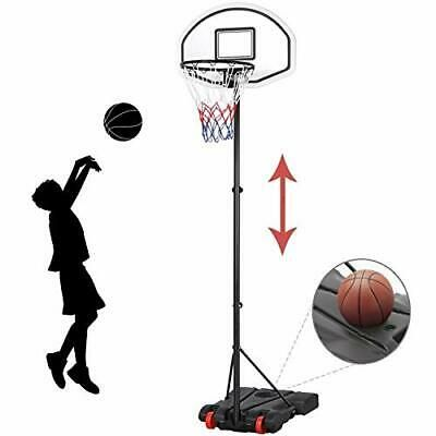 Advertisement Ebay Height Adjustable Basketball Hoop System Portable Basketball Goal Outdo In 2020 Adjustable Basketball Hoop Portable Basketball Hoop Basketball Hoop