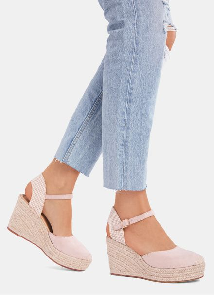 Deezee Rozowe Espadryle Na Koturnie Fresh W Sklepie Deezee Pl Espadrilles Sandal Espadrille Shoes
