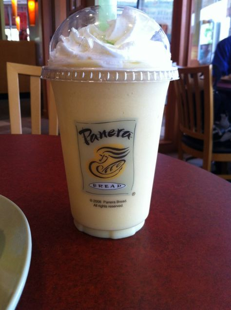 Panera Bread Mango smoothie :] yumm!