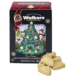 Walkers Mini Christmas Tree Shortbread Biscuits 150g Alt Image 1