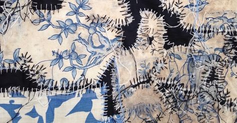 Merill Comeau: The act of stitching - TextileArtist.org