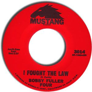 Bobby Fuller Four I Fought The Law Music Charts Greatest Songs Songs