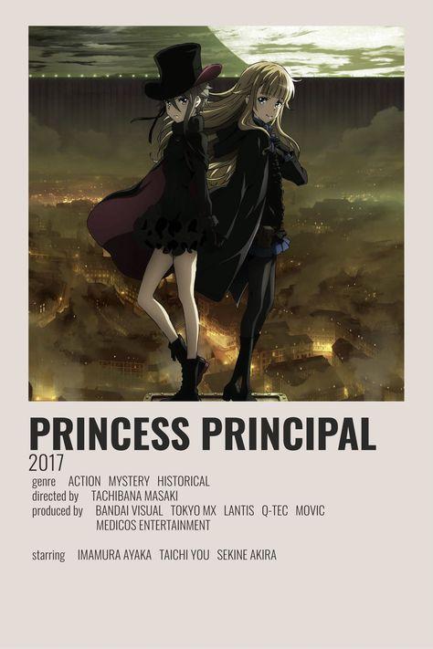 Princess principle minimalist poster