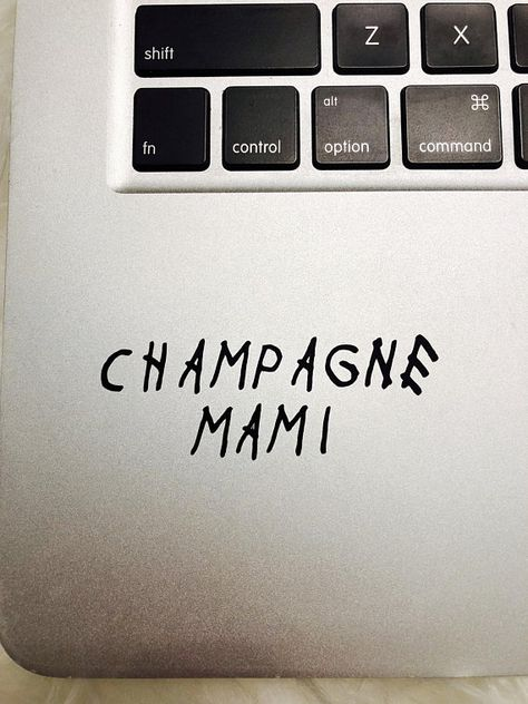Champagne Mami Decal Sticker Drake Toronto Laptop Phone