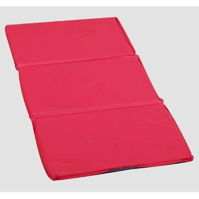 Children S Factory H S Infection Control 1 Thick Folding Nap Mat Color Red Blue In 2020 Infection Control Nap Mat Portable Toddler Bed