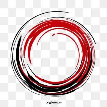 Vector Red Circle Ink Circle Clipart Circle Vector Ink Marks Png Transparent Clipart Image And Psd File For Free Download Circle Clipart Circle Light Creative Circle