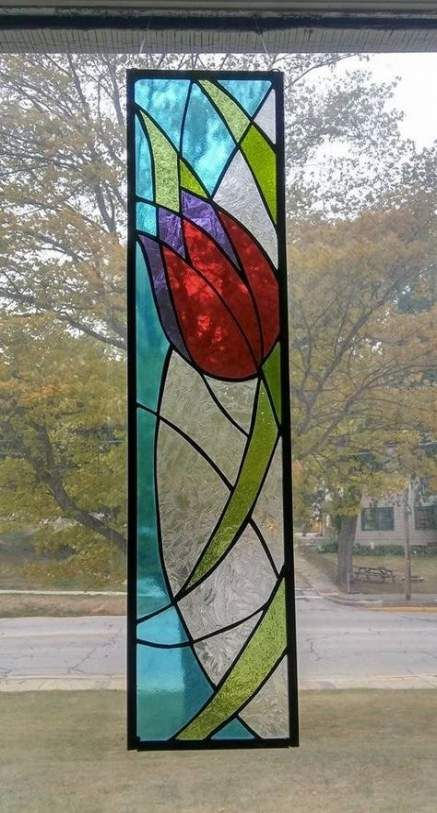 Trendy Painting Glass Panels Art Ideas Painting Stained Glass