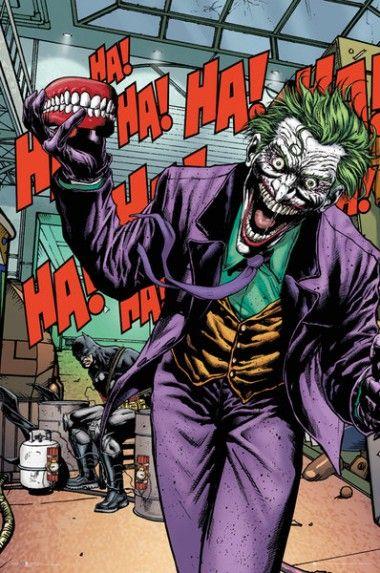 Dc Comics Joker Forever Evil Plakat Plakaty Filmowe