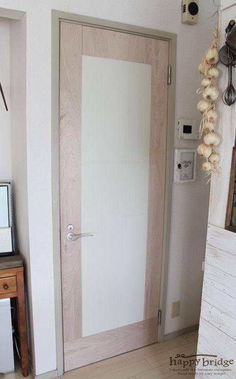 20150528 賃貸ドア リメイク 01 Diy アイデア ドア アイデア