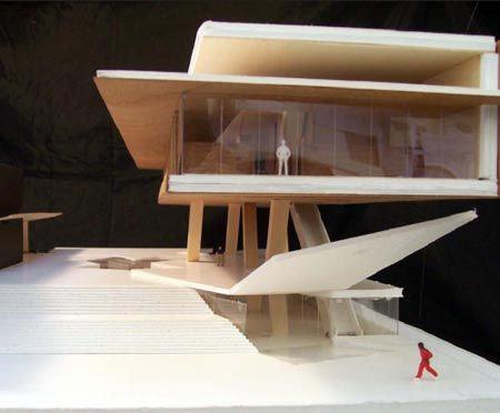 Architectural Project Concept Model Library Design