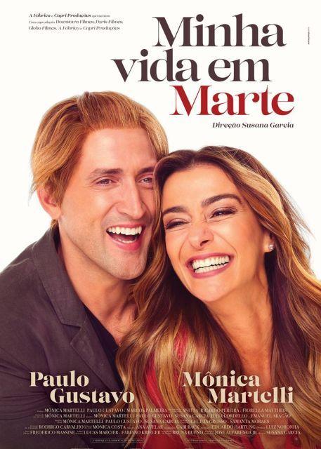 Paulo Gustavo E O Par Perfeito De Monica Martelli Em Minha Vida