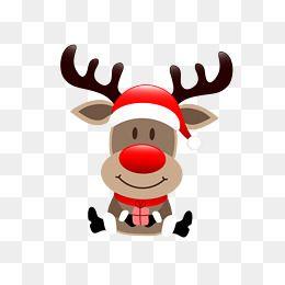 Christmas Reindeer Png.Vector Cartoon Reindeer Cartoon Reindeer Christmas