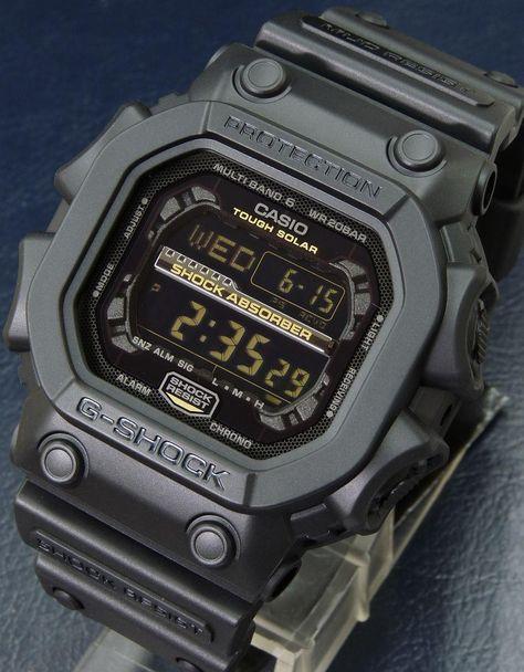 Casio G Shock GA 100C 8A Chronograph With Blue Needle Grey