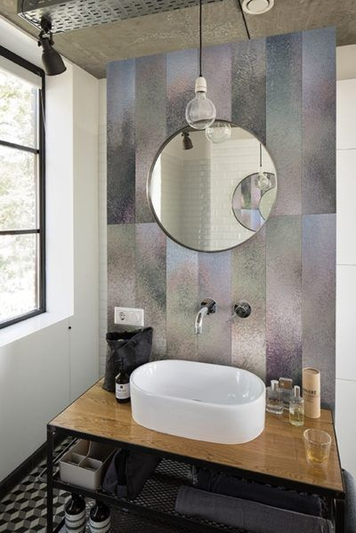 Badezimmer Renovieren Mit Tapete Und Ohne Fliesen Trebes Raumausstattung Und Inneneinrichtung Badezimmer Renovieren Deko Wand Badezimmer