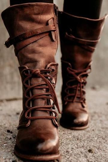 Womens Leather Boots Online