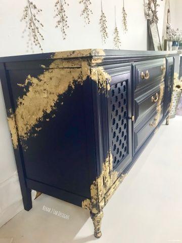 Navy And Gold Leaf Gold Leaf Furniture Blue And Gold Living