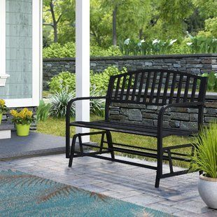50 Outdoor Rocking Chairs Discover The Best Patio Rocking Chairs And Rocking Chairs For Your Porch Patio Glider Outdoor Patio Swing Outdoor Patio