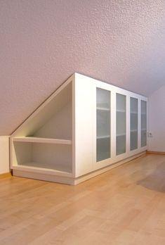 Ikea Wandschrage Schrank In 2020 Schrank Dachschrage Dachboden