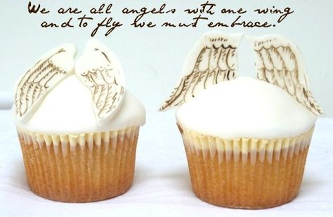 Hand painted angel wings from Amelie's House